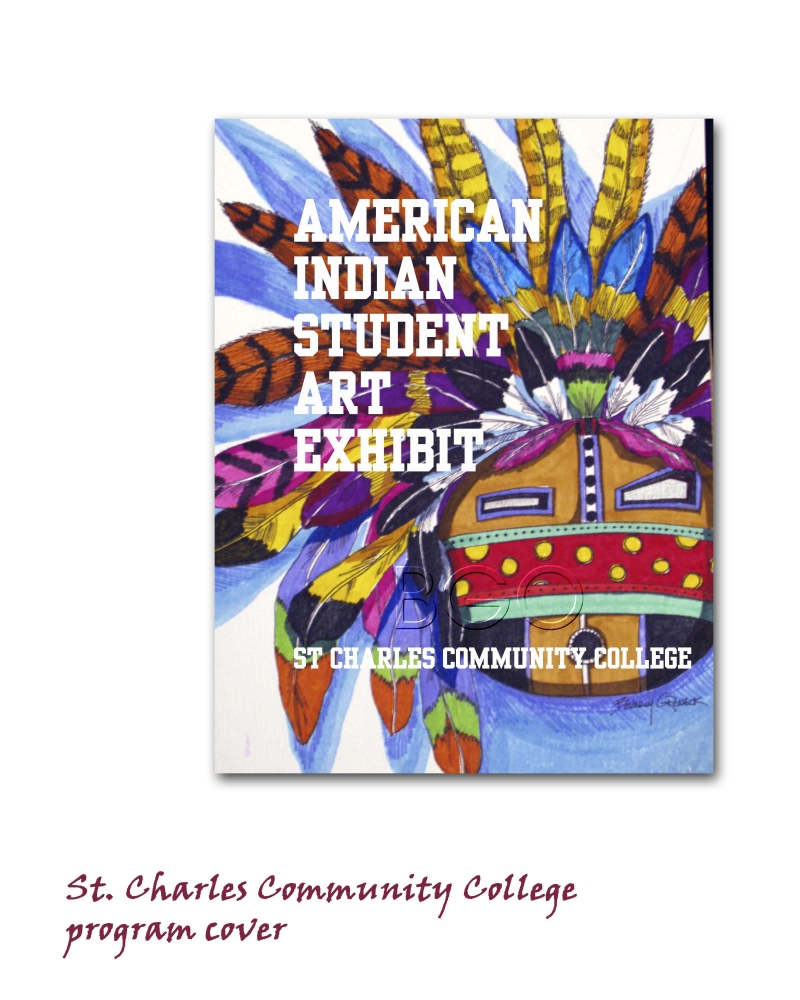 Native American Student Show -SCCC cover