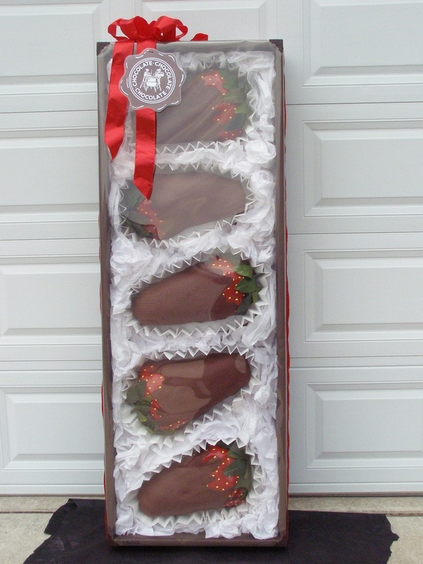 CCC - Chocolate Covered Strawberries, box of candy